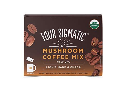 76a5bdc22a Four Sigma Foods Mushroom Coffee with Lion's Mane and Chaga
