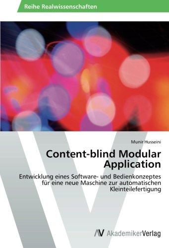 Content-blind Modular Application por Husseini Munir