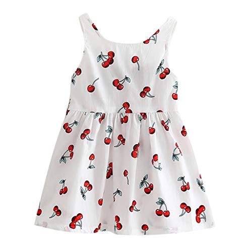 Beikoard_Babykleidung Baby Mädchen Kleider Kleinkind Mädchen Sommer Prinzessin Kleid Party Hochzeit ärmellose Kleider
