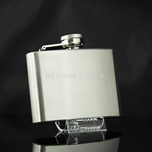 Hip Flasks - Free Shipping Stainless Steel 4oz Camping Hip Flask Liquor Screw Cap Wine Pot Funnel - Stand Skates Machine Roof Cabinet Replacement Bearing Bearings Essential Stainless Tops Bottle -