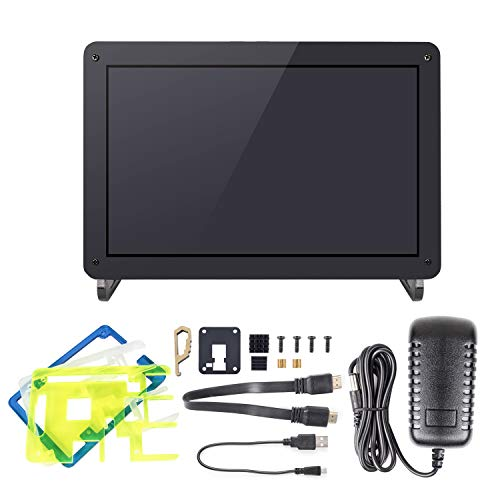 SunFounder 10.1'' Zoll IPS Monitor-Raspberry Pi 10.1 Inch HDMI IPS LCD Monitor Display High Resolution 1280×800 Camera Holder Stand for Rasp... 12