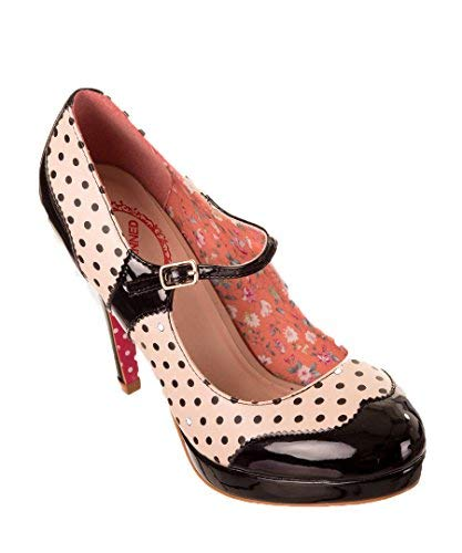 Dancing Days Betty Vintage 50s Estilo Zapatillas Rockabilly