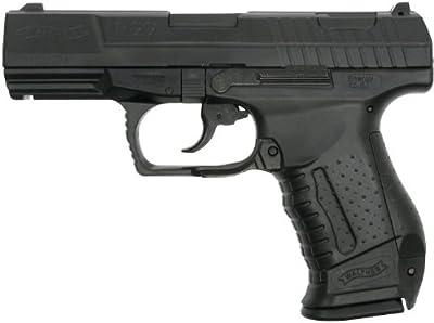 Walther P99 - Pistola de airsoft (con muelle, licencia, cargador adicional, < 0,5 J), color negro