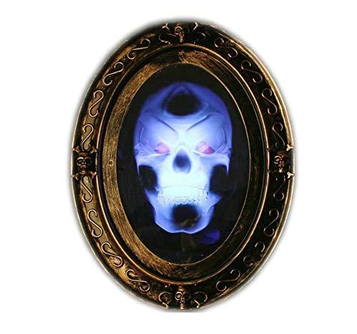 AGGK Halloween Dekoration Stimmenkontrolle Beleuchtet Spiegel Spielzeug Dekoration Terror Spukhaus Bühnenbesitz