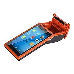 All-in-One-Handheld-PDA-Drucker Smart POS-Terminal Drahtlose tragbare Drucker Intelligente Zahlungsterminalfunktion BT/WiFi/USB OTG / 3G-Kommunikation / 1D-Scanning