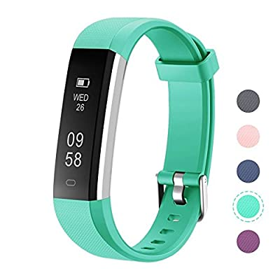 LETSCOM Fitness Tracker, Activity Tracker with Step Counter Watch and Sleep Monitor, IP67 Waterproof Fitness Wristband as Calorie Counter Pedometer Watch for Kids Women Men from LETSCOM