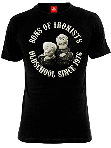 Die Muppets Sons of Ironists T-Shirt schwarz L