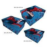 Spiderman set 3 scatole