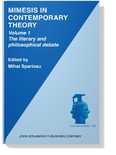 001: Mimesis in Contemporary Theory: An interdisciplinary approach: Volume 1: The literary and philosophical debate (Cultura Ludens)