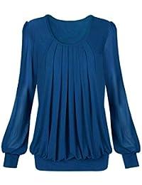 d637c81cb7 Amazon.es  Los Puntos - Azul   Blusas y camisas   Camisetas