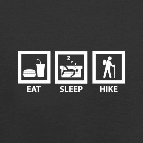 Eat Sleep Hike - Herren T-Shirt - 13 Farben Schwarz