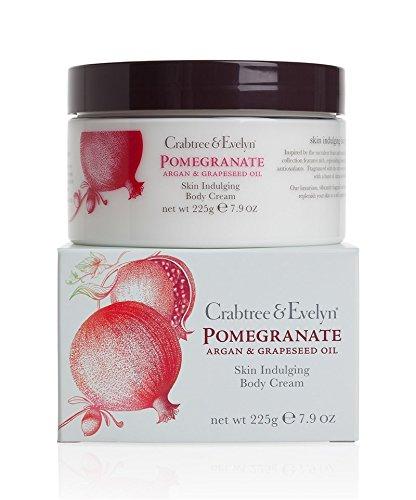 Crabtree & Evelyn Pomegranate, Argan und Grapeseed Body Cream Körpercreme 225ml