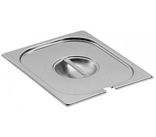 Edelstahl 1/6GN-Behälter Pfanne mit Deckel, Bain Marie,-Lebensmittel