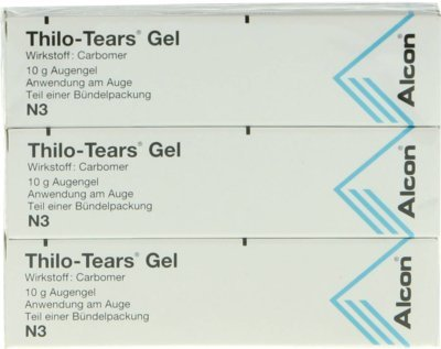 Thilo Tears Augengel 3X10 g