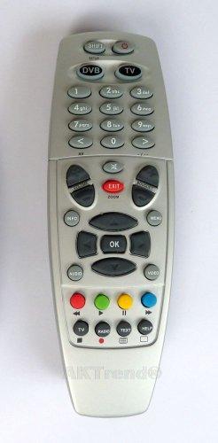 AKTrend® - Fernbedienung für Dreambox DM 500HD / 7020HD / 7020 / 7025 /800 HD/800 SE HD /8000 HD Silber oder Schwarz