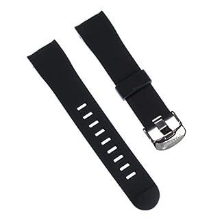 Correa de reloj Calypso pulsera Fashion-material de PU negro para Calypso K5622 relojes