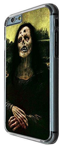 703 - Funny Walking Dead Zombie Mona Lisa Design iphone 6 PLUS / iphone 6 PLUS S 5.5'' Coque Fashion Trend Case Coque Protection Cover plastique et métal
