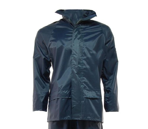 Arctic Storm Waterproof Rain Suit Hooded Jacket Over Trousers Cam Fishing Set