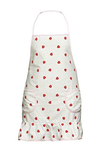 Premier Housewares - Grembiule da cucina campi di fragole 100%