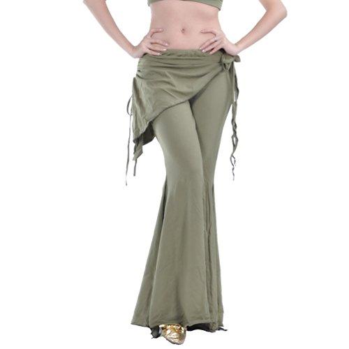 YuanDian Damen Bauchtanz Hosen Breites Bein Schlaghosen Elegante -