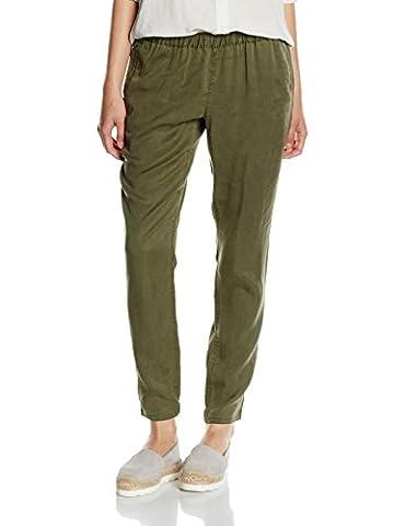 Chaussures Hilfiger Denim - Hilfiger Denim DW0DW00437, Pantalon Femme, Vert (Grape