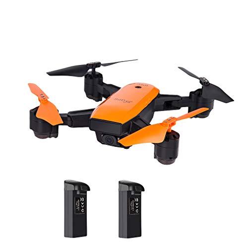 holitie IDEA7 2,4 GHz GPS Drohnen Luftfahrt mit Kamera Live Übertragung 720P HD Kamera, WiFi FPV Quadrocopter, Steuerung Headless Modus,Pocket RC Helikopter für Anfänger - Luftfahrt-kamera
