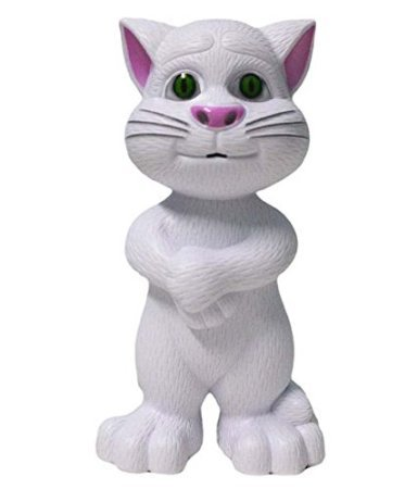 M & M MARS Talking Tom cat (Grey)