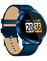 Sunnyday Q8 Sports Smart Pulsera Pantalla a Color Smartwatch Reloj de Pulsera Impermeable