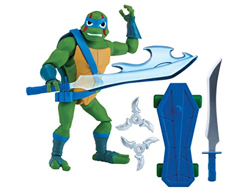 Teenage Mutant Ninja Turtles tuab0300 Leo der Cool Guy der Aufstieg Basic Action (Ninja Turtles Figur)
