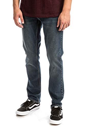 Volcom Herren Jeans Hose Vorta Jeans (Hose Volcom Orange Snowboard)