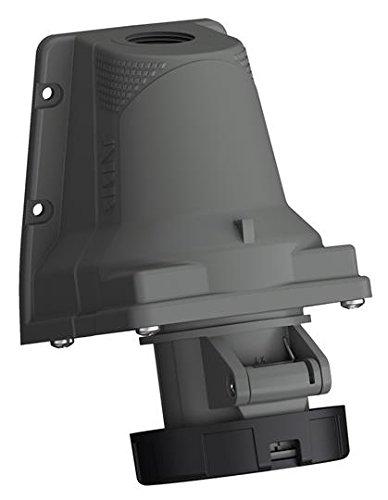 ABB 232ers4W IP672P + E oben & hinten Eintrag Steckdose, Kunststoff, gelb