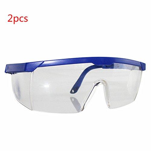 Yalulu 2Pcs Kinder Blau Elite Schutz Schutzbrille Brillen für Nerf Gun N-Strike Elite Series (Kinder Nerf-gun-brille)