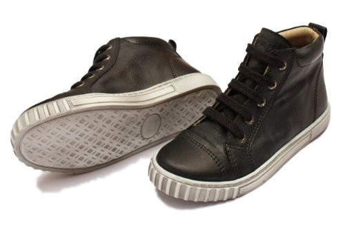 Pom Pom Boy Hightop Lace Sneaker Black