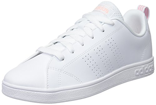 adidas Vs Advantage Cl Scarpe da Tennis Donna, Bianco Ftwwht/Hazcor 000, 36 2/3 EU