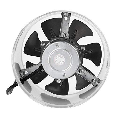 Ventilador Extractor de Aire en Línea Ventilador de Conducto Silencioso Helicoidal Vents...