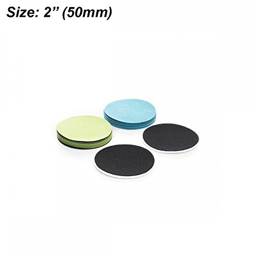 Preisvergleich Produktbild 5,1cm (50mm) Transportation Kit für Heimwerker gp-wiz Kit–Enthält GP50, W GP100Schleifscheiben und Polieren Pads