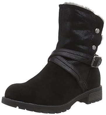 Jana 26431&Nbsp;Biker Boots Pour Femme - Noir - Schwarz (Schwarz (Black 001)), 36