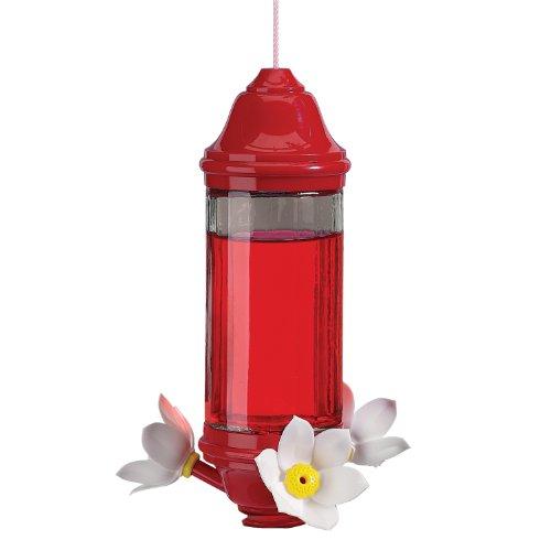 artline Crystal Lantern Hummbird FDR 8oz Glass - Crystal Lantern Hummingbird Feeder