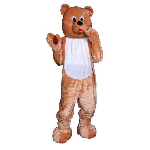 Dress up America Teddy Bear Mascot Costume Set (L) by Dress Up America