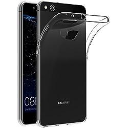 AICEK Coque Huawei P10 Lite, Transparente Silicone Coque pour P10 Lite Housse Huawei P10 Lite (5,2 Pouces) Silicone Etui Case