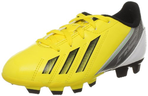 adidas Performance F5 TRX FG J G65429, Jungen Fußballschuhe, Gelb (VIVID YELLOW S13/BLACK 1/GREEN ZEST S13), EU 38  (UK 5)