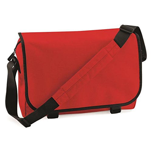 BagBase Messenger bag Bright Red