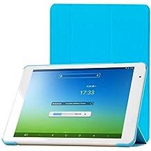TopAce® Slim Smart Funda de Cuero Con Función de soporte para Teclast X98 Air III / X98 Air 3G / X98 Plus (Azul)