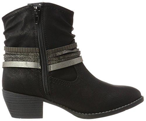 Jane Klain Damen 253 534 Cowboy Stiefel Schwarz (Black)