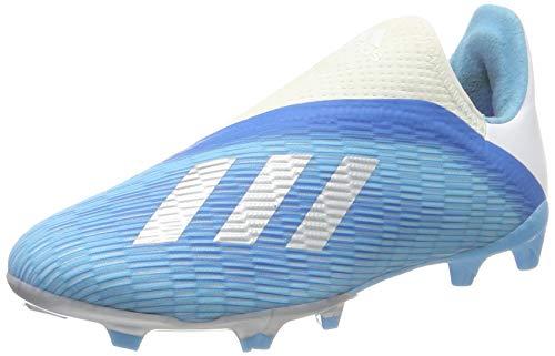 adidas X 19.3 LL FG J, Botas de Fútbol para Niños, Multicolor Ciabri Plamet Rossho 000, 33 EU