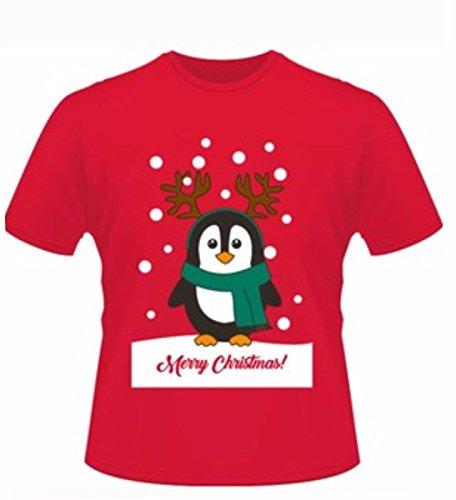 Chaos Theory Mens Xmas T Shirt Christmas Womens Unisex Santa Reindeer Snowman Novelty Tee Top [UK M]