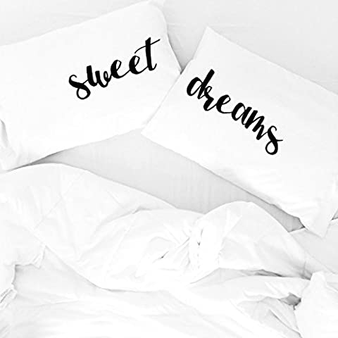 Oh, Susannah Sweet Dreams fundas de almohada Parejas fundas de almohada de habitaciones fundas de almohada (2fundas de almohada)