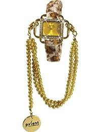 Axcent - Glam Petite - Dorado - correa estampado animal
