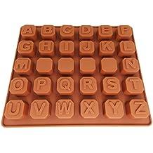 JJOnlineStore – UK 3d diseño de rosas de letras de la A a la Z Alfabeto