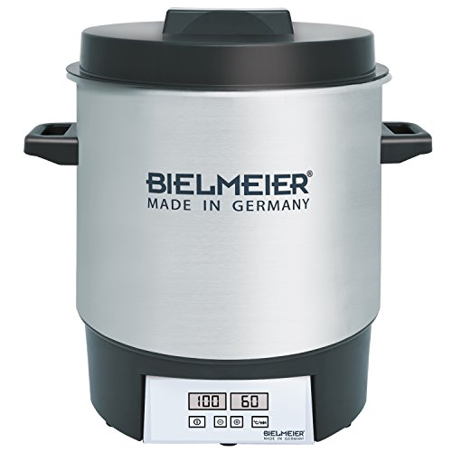 41p4zqCJtUL. SS500  - Bielmeier BHG 411.0 Digital Preserving Cooker, 1800 W
